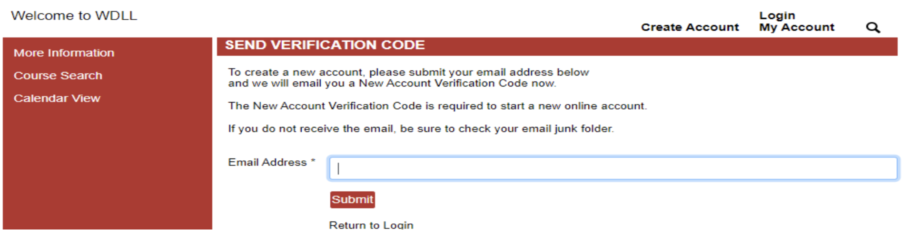 Step Two Enter Email