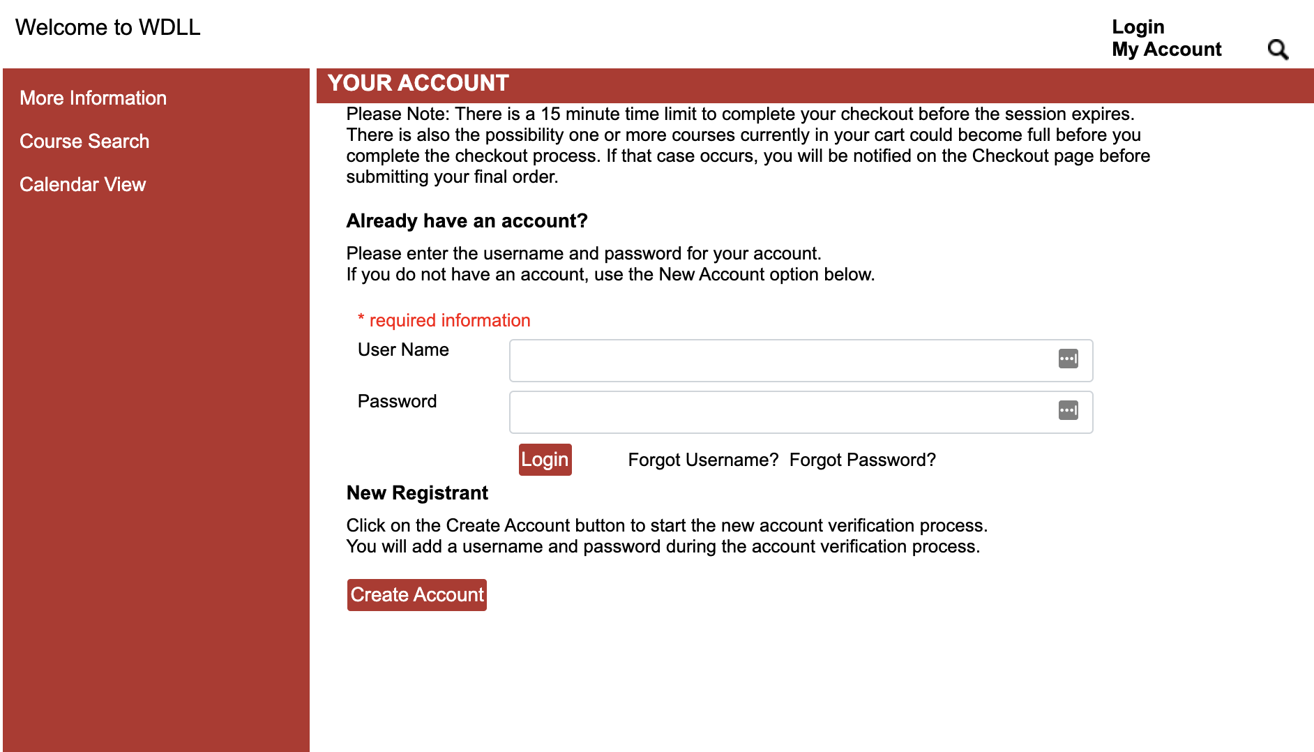 Step Five Log into New Account