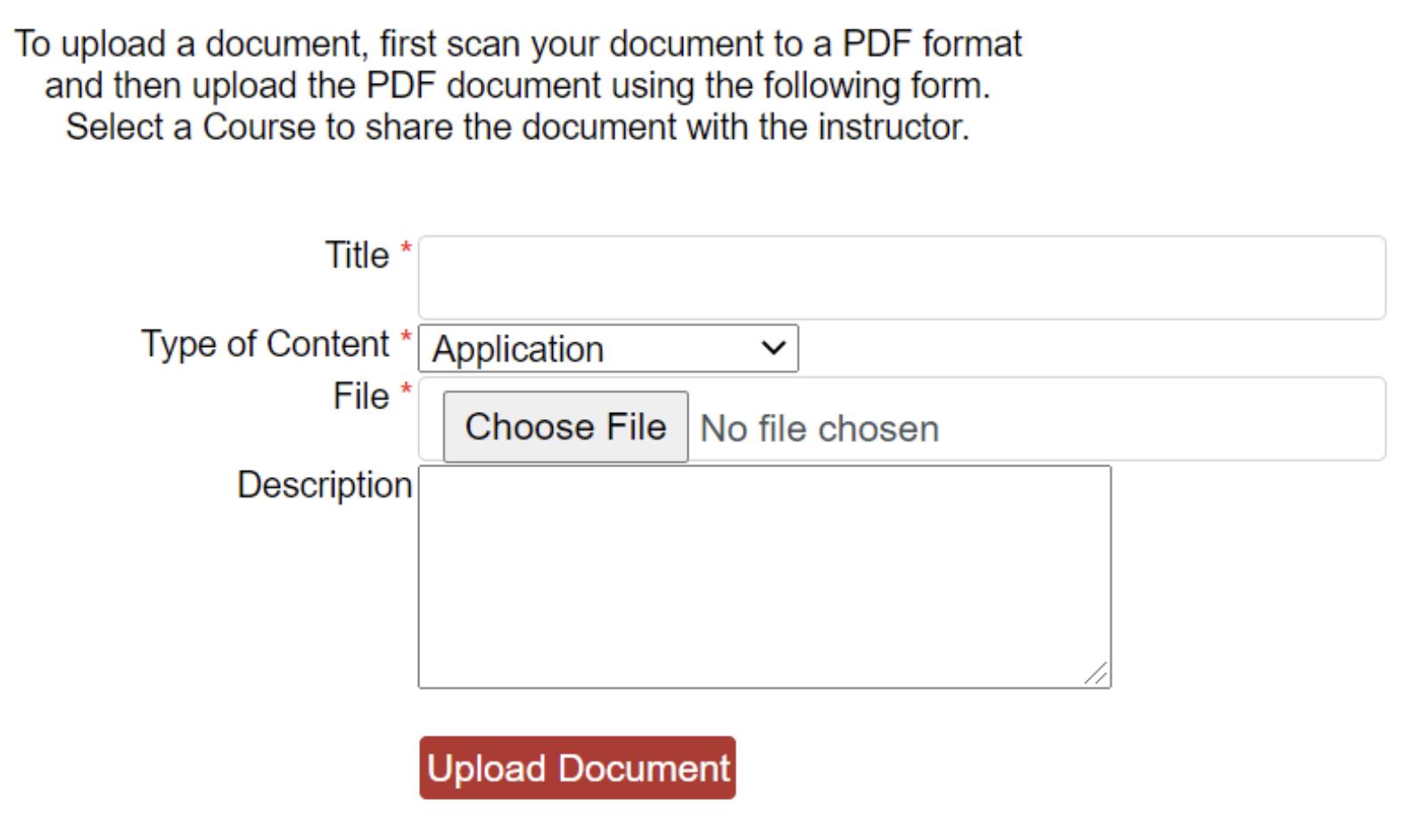 Step Seven Document Upload